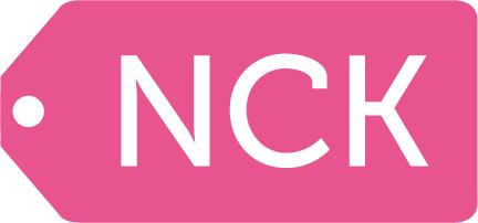 Logotyp NCK rosa